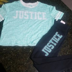 New Justice Outfit Size 6/7